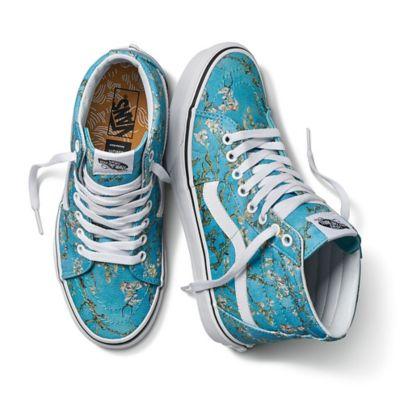 Vans x Van Gogh Museum Sk8-Hi Shoes | Blue