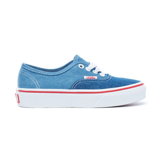 Kinder Denim 2-Tone Authentic Schuhe | Vans