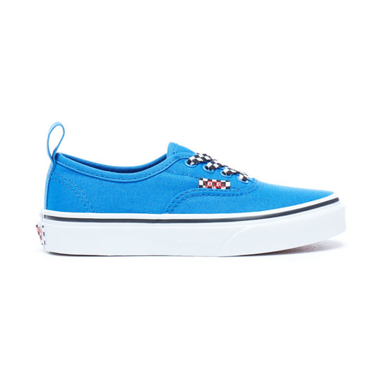 Kids Check Lace Authentic Elastic Lace Shoes | Vans