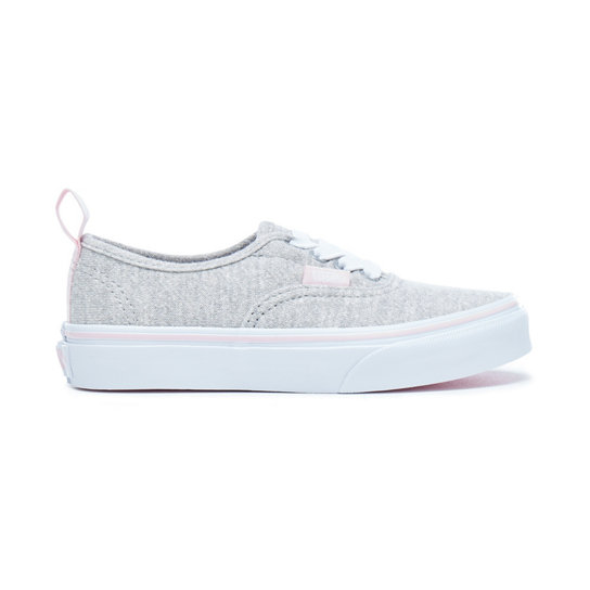 Kids Shimmer Jersey Authentic Elastic Lace Shoes | Vans