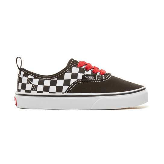 Kids Checkerboard Authentic Elastic Lace Shoes (4-12 years) | Vans