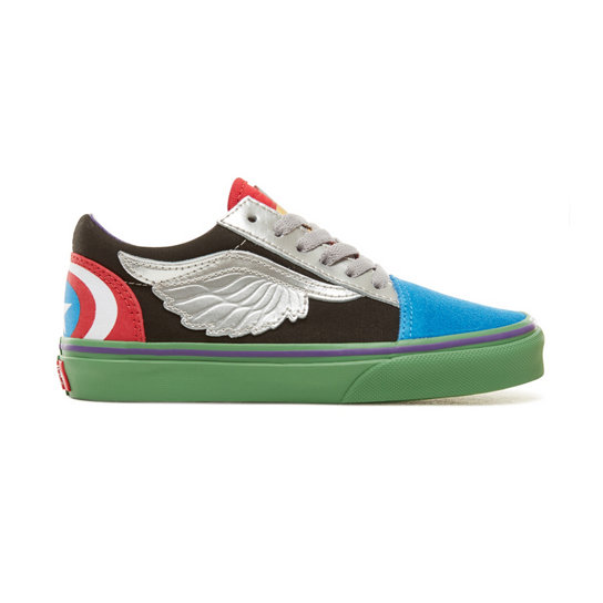 Kids Vans X Marvel Old Skool Shoes | Vans
