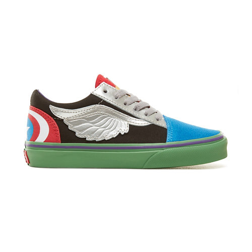 Vans+X+Marvel+Old+Skool-kinderschoenen