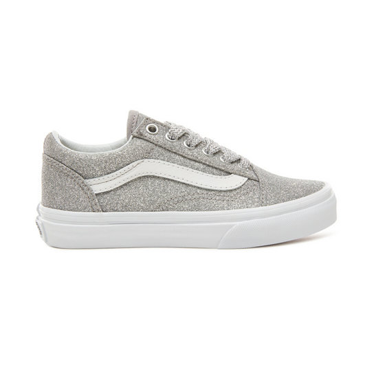Kids Lurex Glitter Old Skool Shoes (4-8 years) | Vans