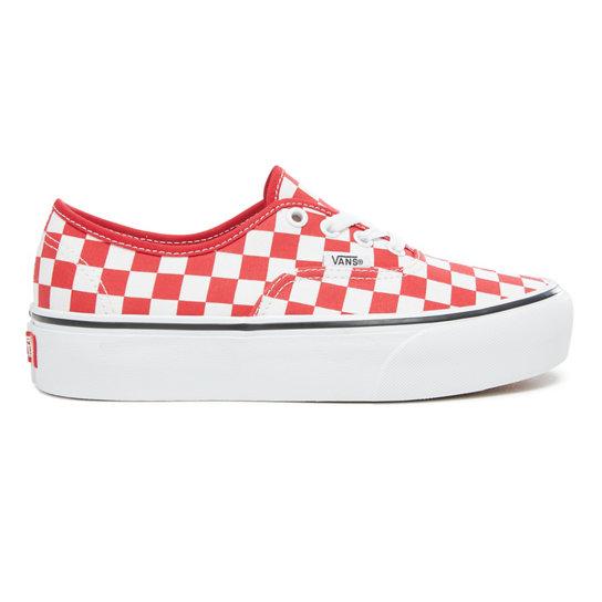 Checkerboard Authentic Platform 2.0 Shoes  2c26d557163