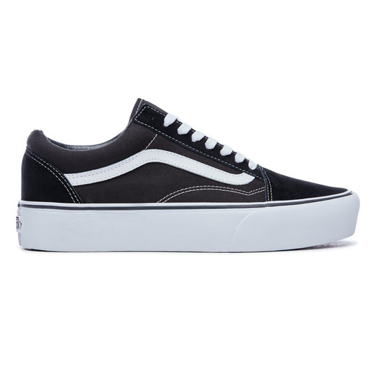 chaussures platform old skool noir vans. Black Bedroom Furniture Sets. Home Design Ideas