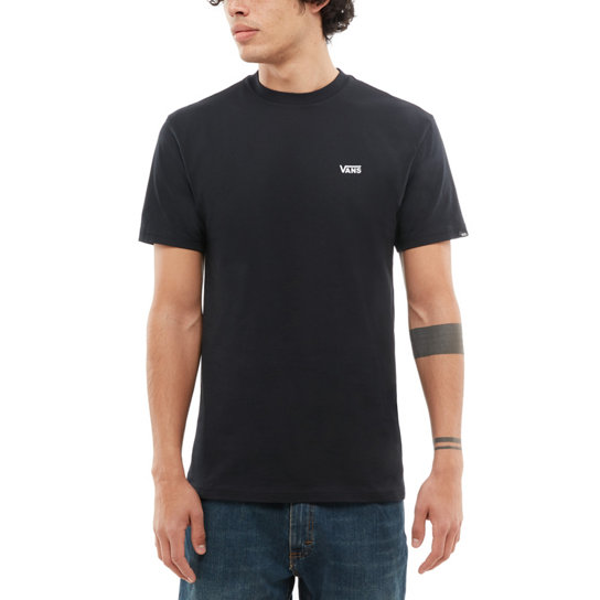 f9c4b978edddc7 Left Chest Logo T-shirt | Black | Vans