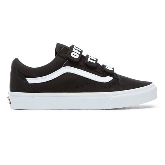 chaussures off the wall old skool v noir vans. Black Bedroom Furniture Sets. Home Design Ideas