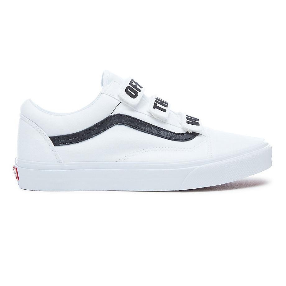 Vans Off The Wall Old Skool V Schuhe (true White black