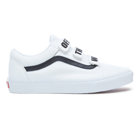 off the wall old skool v shoes white vans. Black Bedroom Furniture Sets. Home Design Ideas