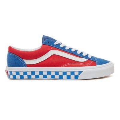 6ea57aa540 Suede BMX Checkerboard Style 36 Schuhe | Blau | Vans