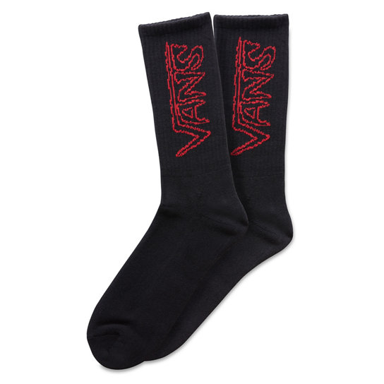 Sketch Tape Crew Socken (1 Paar) | Vans