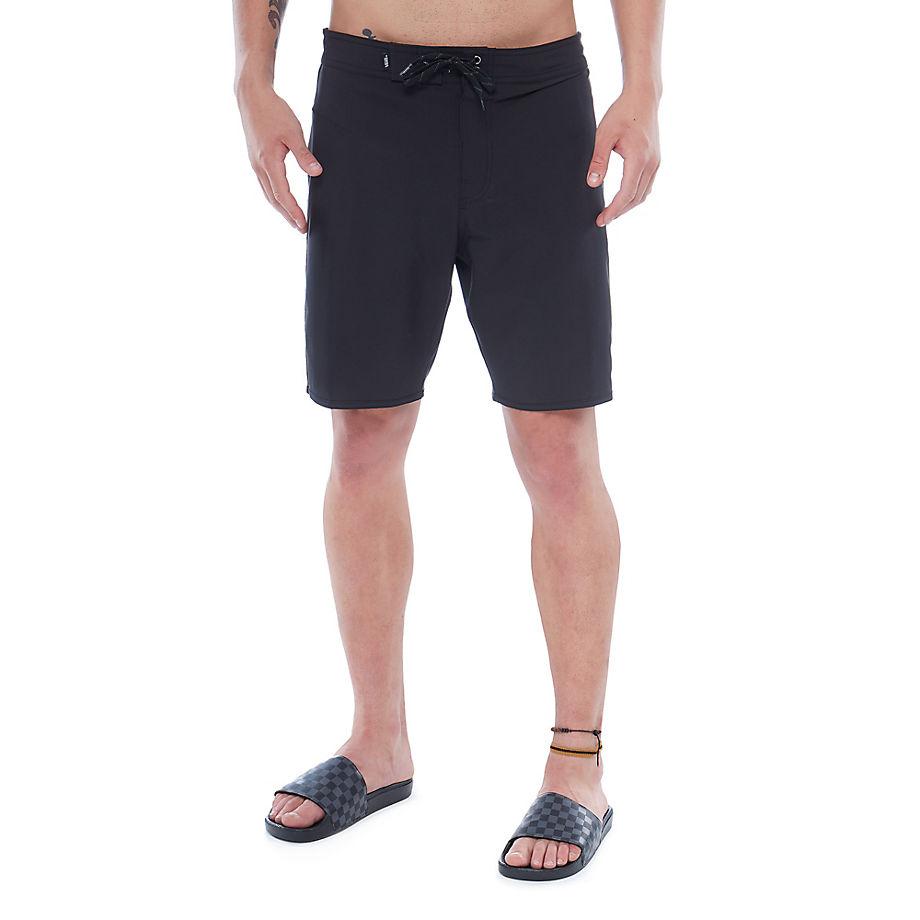 VANS Short De Bain Sidestripe (noir) Homme Noir, Taille 33
