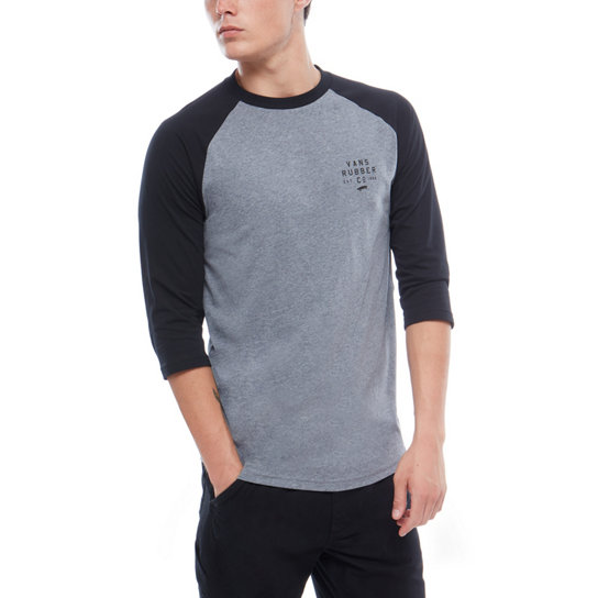 Stacked Rubber Raglan T-Shirt | Vans