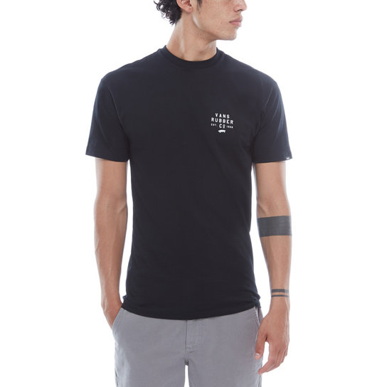 Stacked Rubber Short Sleeve T-Shirt | Vans