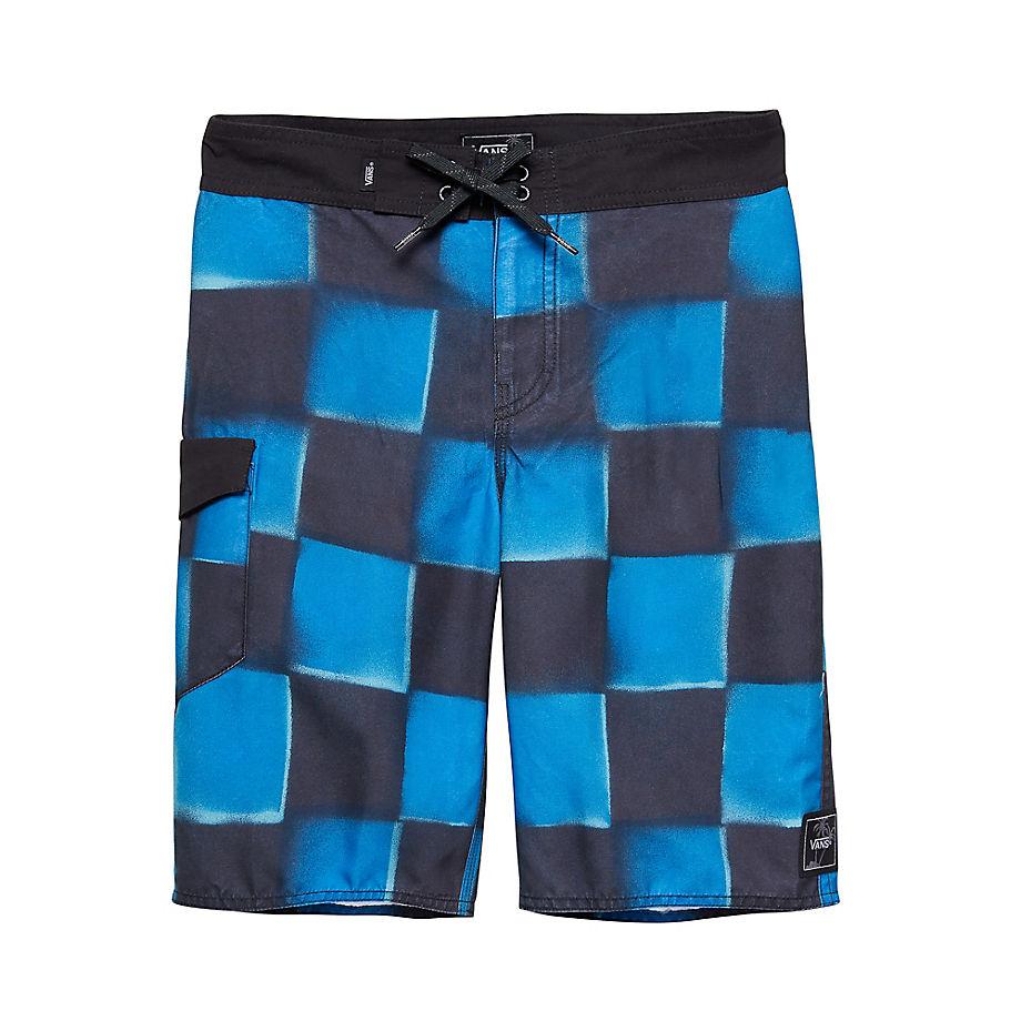 VANS Short De Bain Junior Check Yourself Ii (victoria Blue) Enfant Bleu, Taille 24