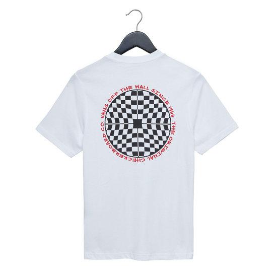 Kids Checkered Short Sleeve T Shirt White Vans