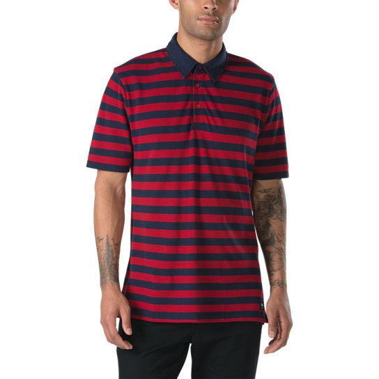 Chima Striped Polo Shirt | Vans