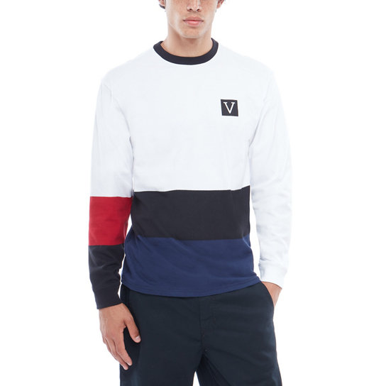 Chima Colorblock Ls Long Sleeve T-Shirt | Vans