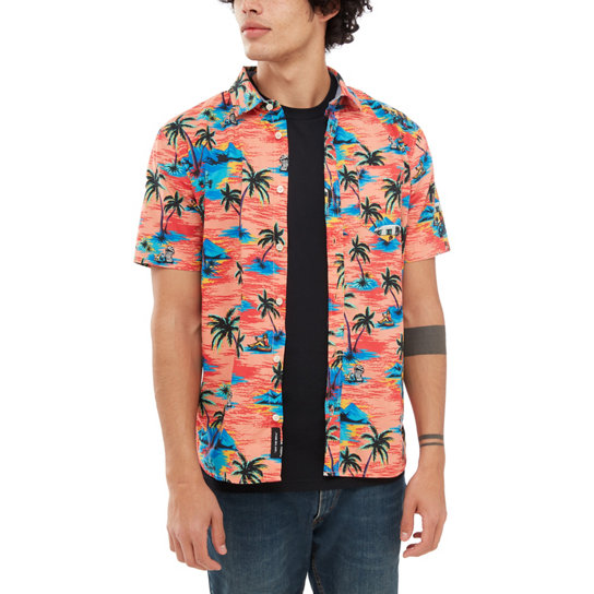 Dystopia Short Sleeve Shirt | Vans