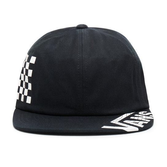 04cd588e Distort Jockey Hat   Black   Vans