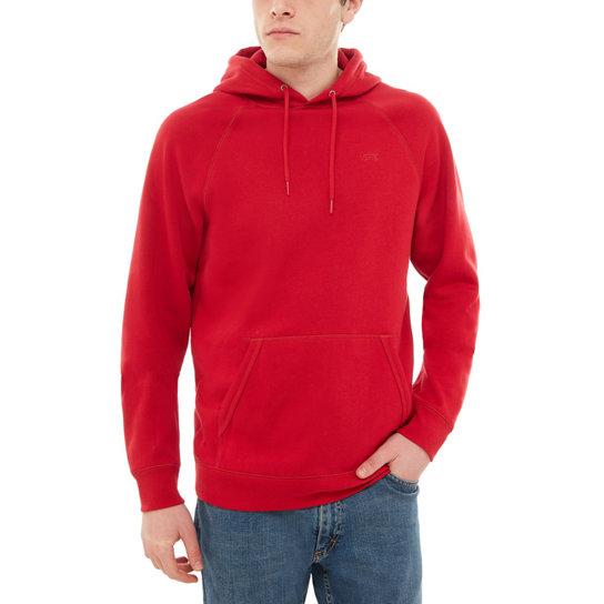 vans hoodie rood