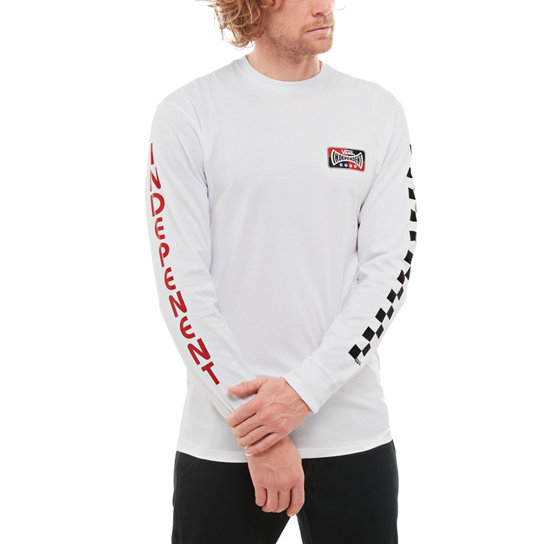 Vans X Independent Checkerboard Long Sleeve T-shirt | Vans