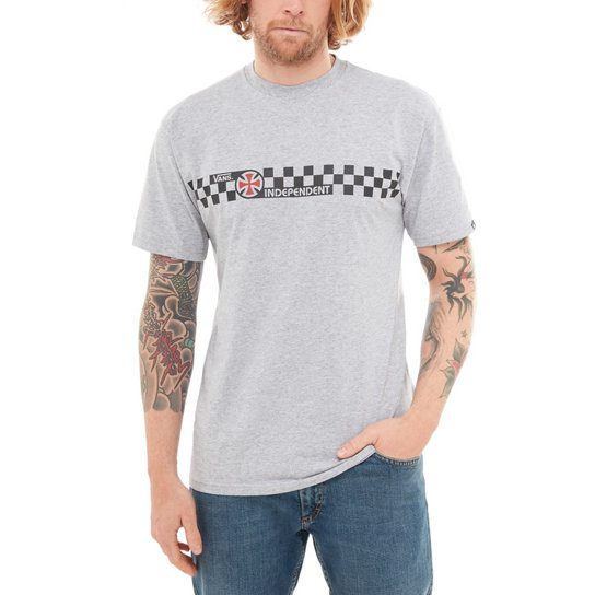 Vans X Independent Checkerboard Short Sleeve T-Shirt | Vans