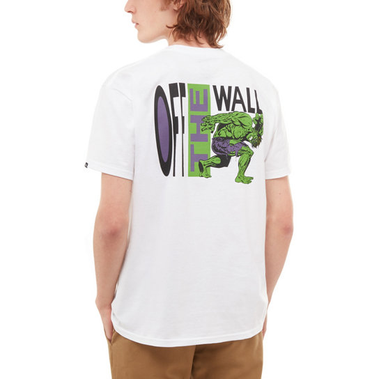 b982a7cd28d Vans X Marvel Hulk Short Sleeve T-Shirt
