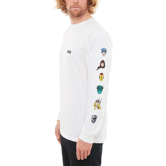 Vans X Marvel Characters Long Sleeve T-Shirt