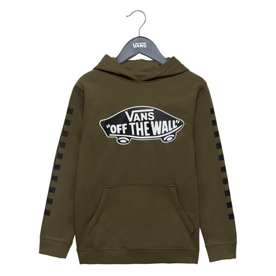 Kids Exposition Check Pullover Hoodie | Vans