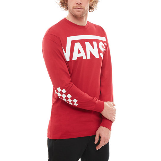 8d58f2e8aa Vans Distorted Long Sleeve T Shirt
