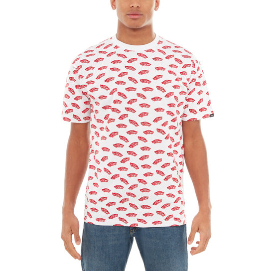 All Over Distorted Short Sleeve T-shirt | Vans