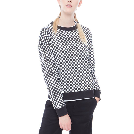Checkers Crew Sweater | Vans
