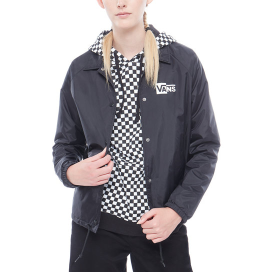 Thanks Coach Check Box Jacket | Vans