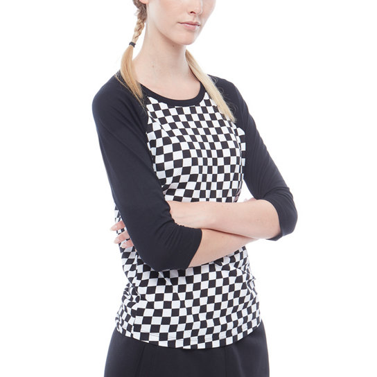 T-shirt Checks Raglan | Vans