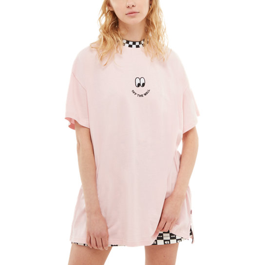 T-shirt maniche corte Vans X Lazy Oaf Off the Wall | Vans