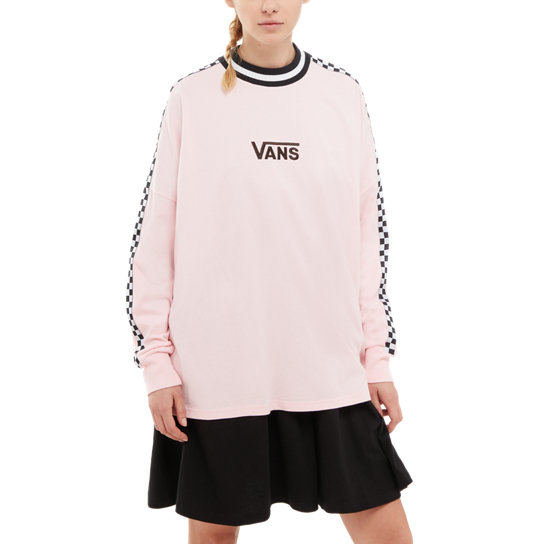 Vans X Lazy Oaf Checkerboard Long Sleeve T-Shirt | Vans