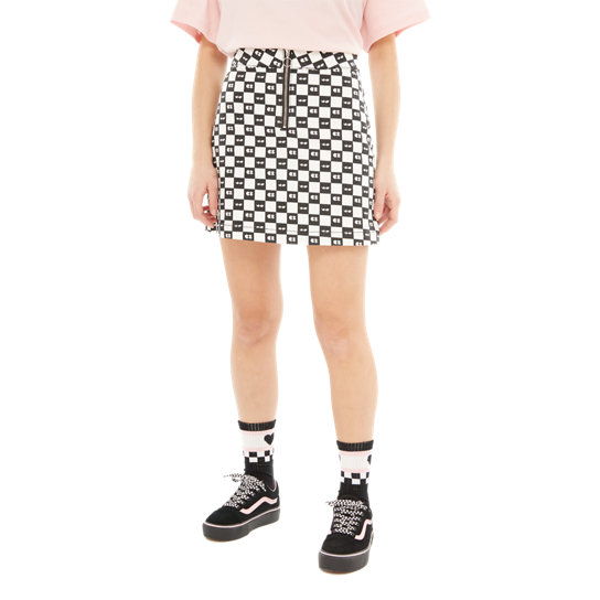 Vans X Lazy Oaf Eyeball Check Skirt | Vans