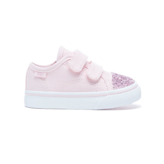 Toddler Glitter Toe Style 23 V Shoes | Vans