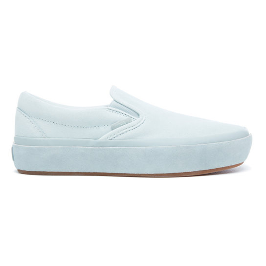 40191acee6 Suede Outsole Classic Slip-On Platform Shoes