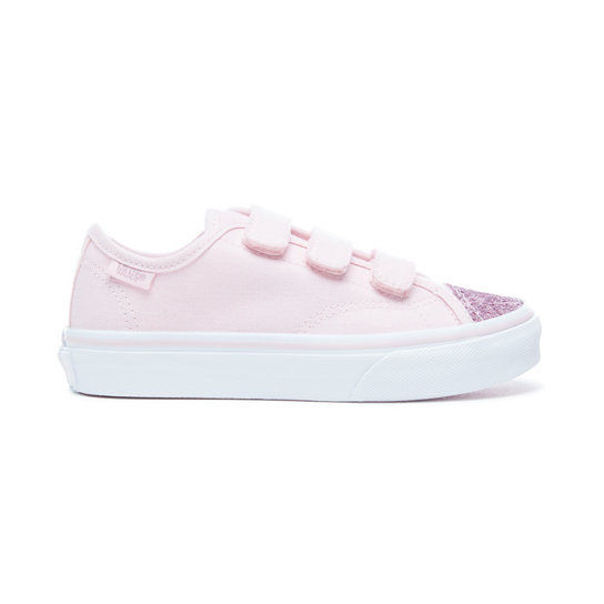 Kids Glitter Toe Style 23 V Shoes | Vans