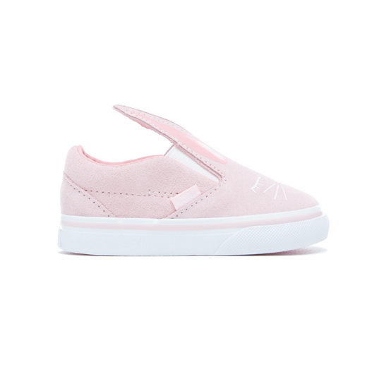 Toddler Suede Slip-On Bunny Shoes | Vans