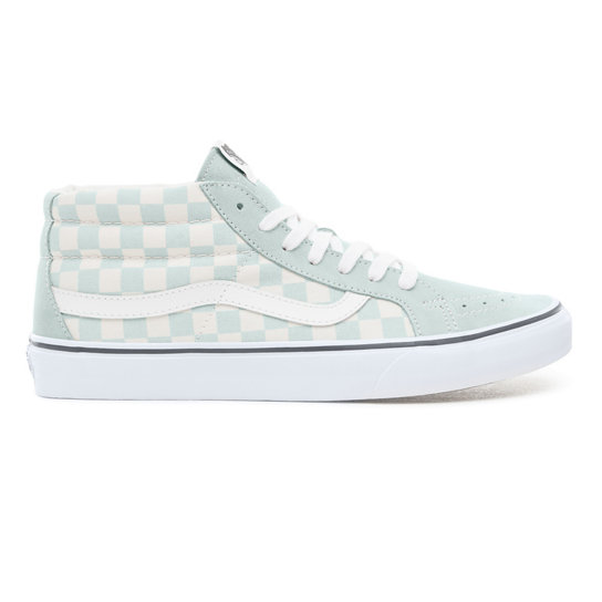 1d04305b9c050a Suede Checkerboard Sk8-Mid Reissue Shoes