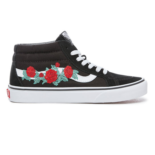 Rose Thorns Sk8-Mid Reissue Shoes | Vans