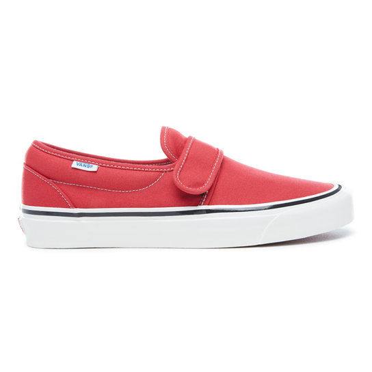 V Slip On Factory Chaussures Anaheim Vans 47 Rouge aq6Xa1wxf