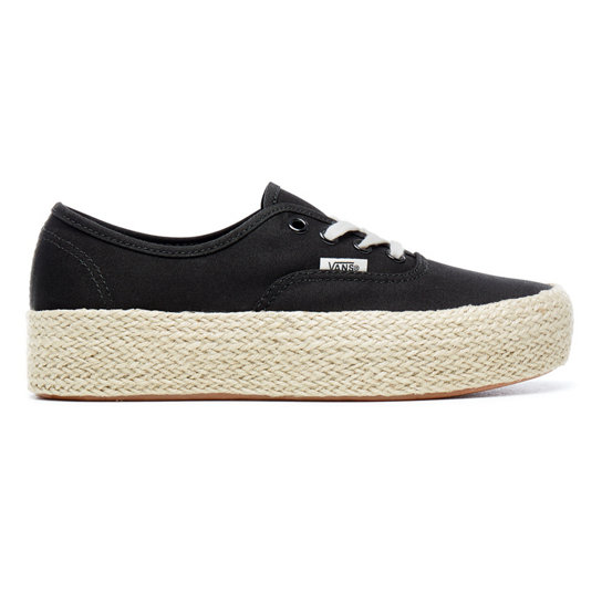 Authentic Platform Espadrille Shoes | Vans