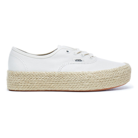 Marshmallow Authentic Plateau-Espadrilles | Vans