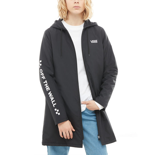 Alliance Long Windbreaker Jacket | Vans
