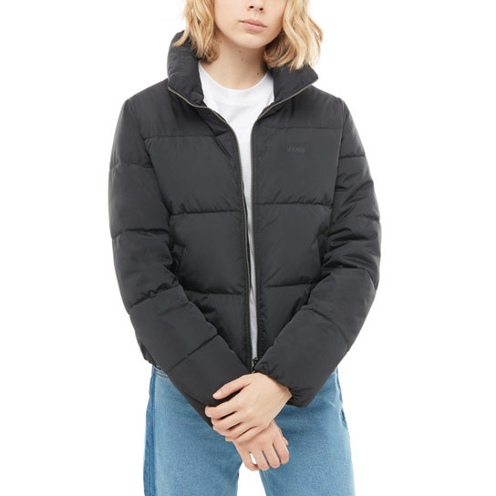 Jacket Vans Black Foundry Puffer MTE YSIH1